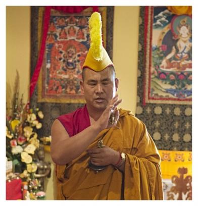 Lama Tendar, Tibetan Buddhist monk, Master Healer